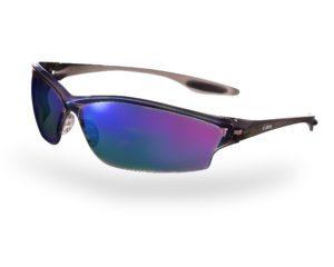 okulary przeciwsłoneczne o zabarwieniu tęczowym bez odbić i refleksów jako przykład zaawansowanech techniki oświetlenia w packshocie